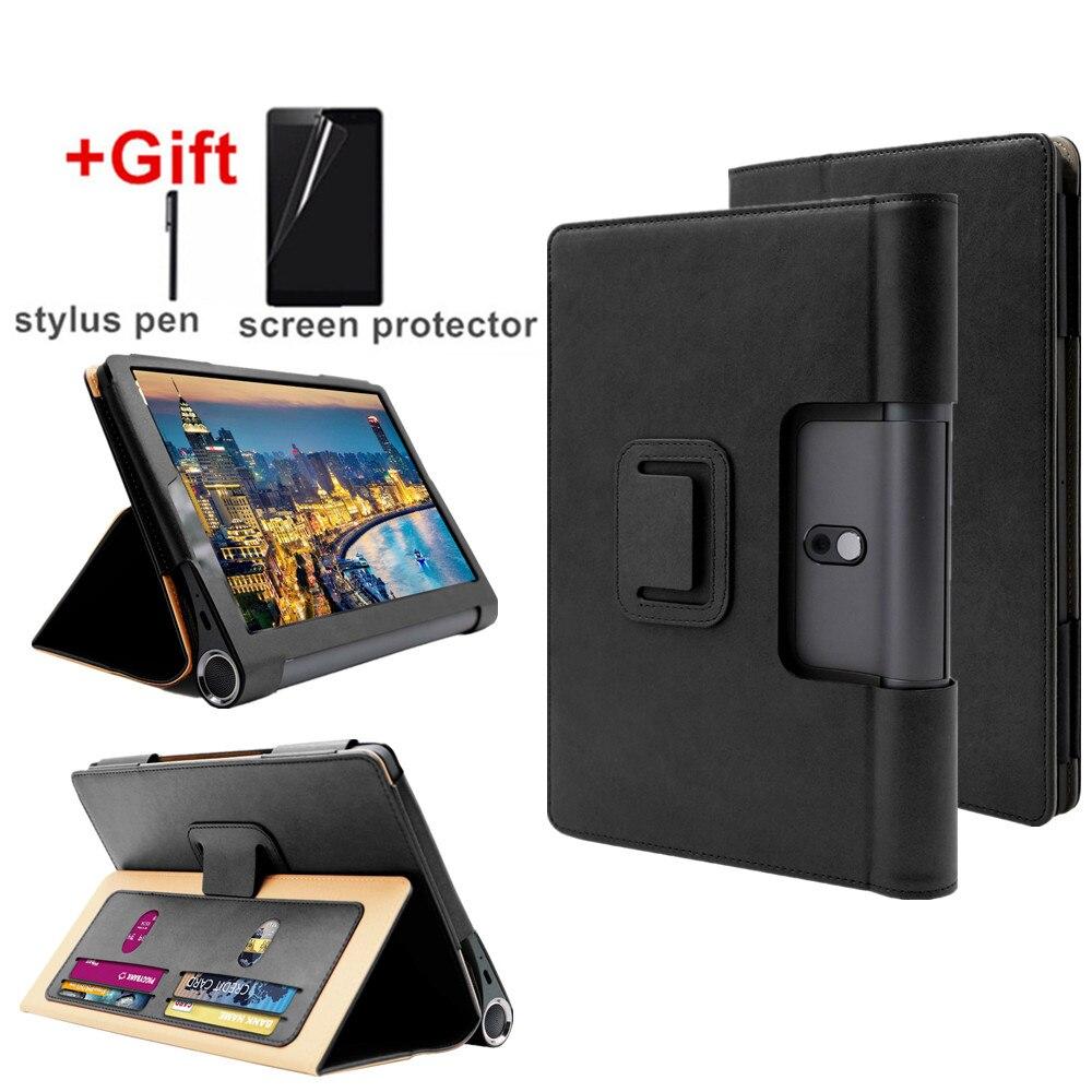 Funda para Lenovo Yoga Tab5 YT-X705F cartera diseño ranura para tarjeta Funda para Lenovo Yoga Smart Tab 10,1 pulgadas