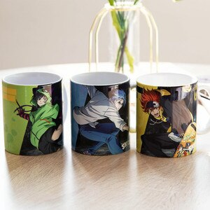 JK Anime SK∞ Kyan Reki Hasegawa Ranga Chinen Miya Cosplay Mark Cup Ceramic Daily Drink Mug Cup