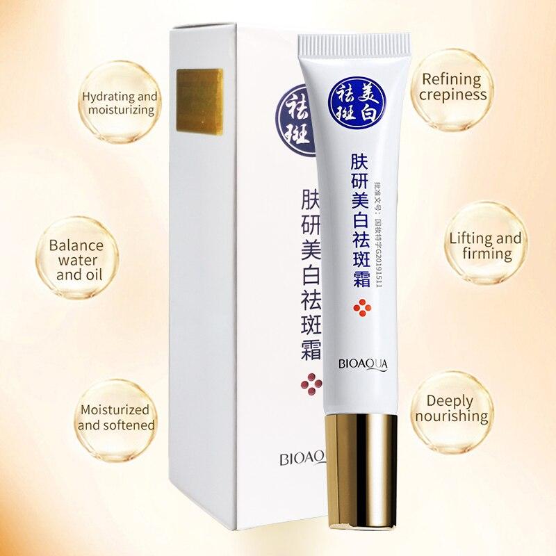Купить с кэшбэком KO Strong Effects Whitening Face Cream Pure Collagen Remove Melasma Pigment Melanin Repair Anti Aging Essence Moisturizing Skin