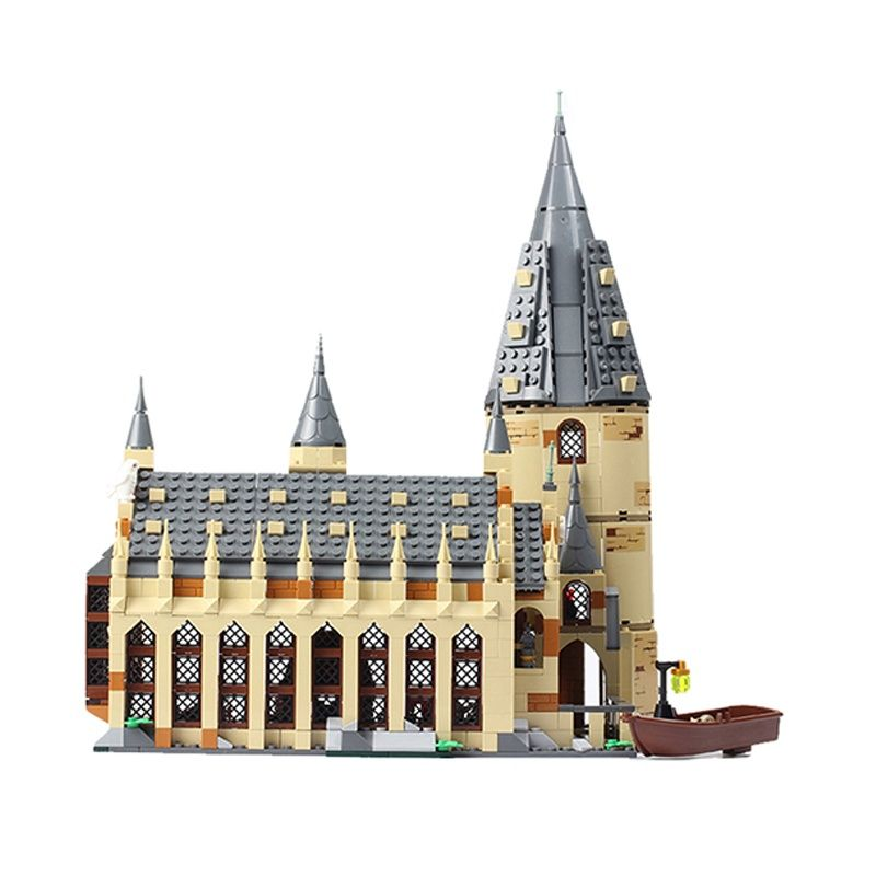 926 Magic Clock Tower Castle Harried Building Blocks Brick Potter Cartoon Action Figure Toys Brain Game Model Anime Holiday Gift