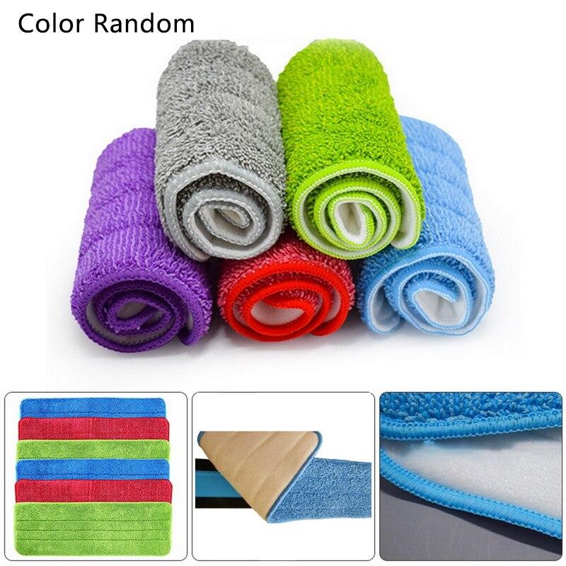 5 pçs substituição microfibra lavável spray mop poeira mop casa mop cabeça limpeza almofada limpa substituir pano casa limpa
