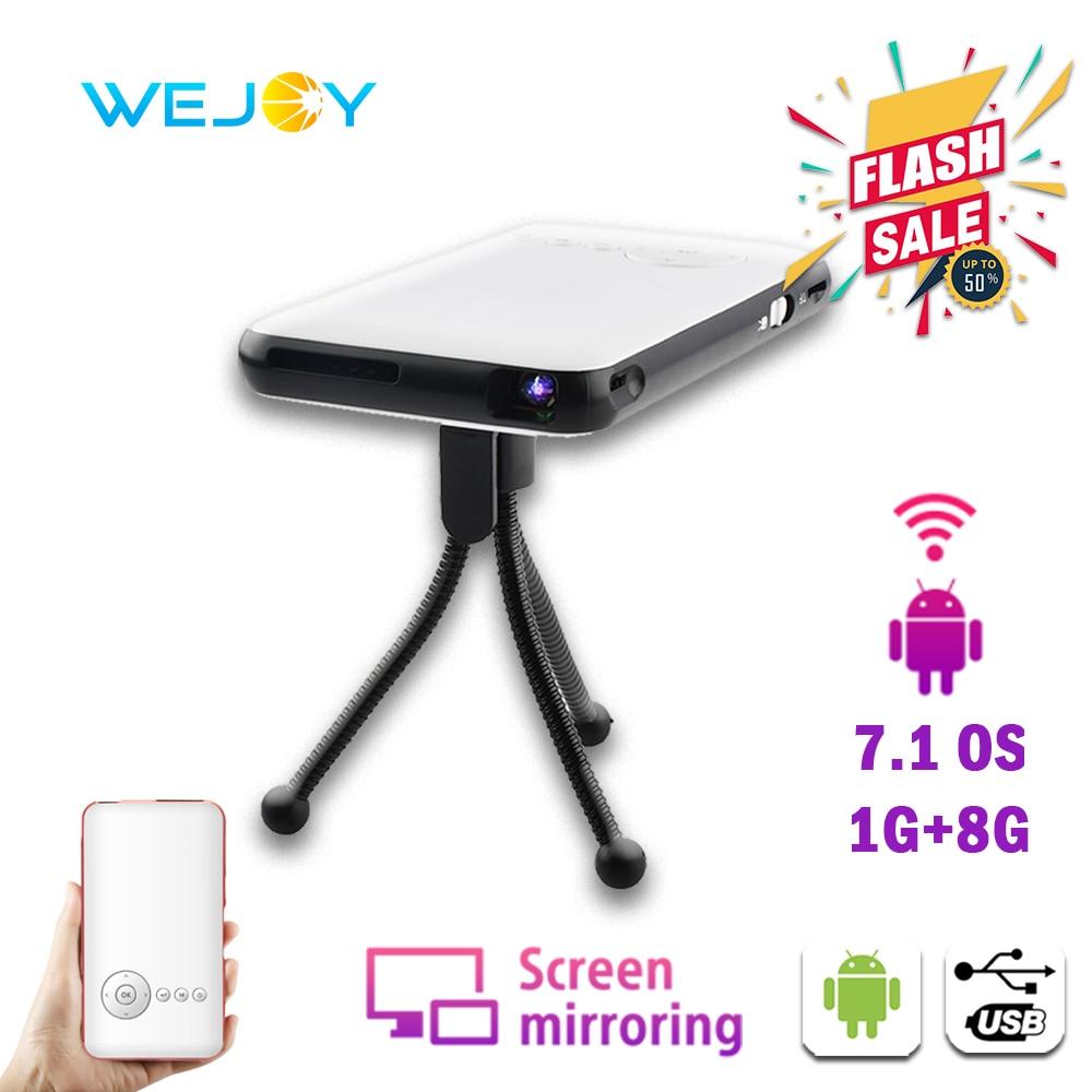 Wejoy-miniproyector LED portátil para cine de bolsillo, DL-S6, DLP, Android Pico, móvil