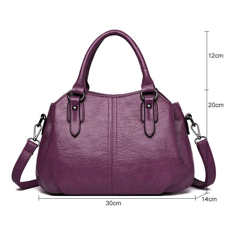 مومياء حقيبة الأزياء نمط الكتف حقائب جلدية المرأة ثلاث مقصورات حقائب عالية الجودة رسول حقيبة للنساء V4-99