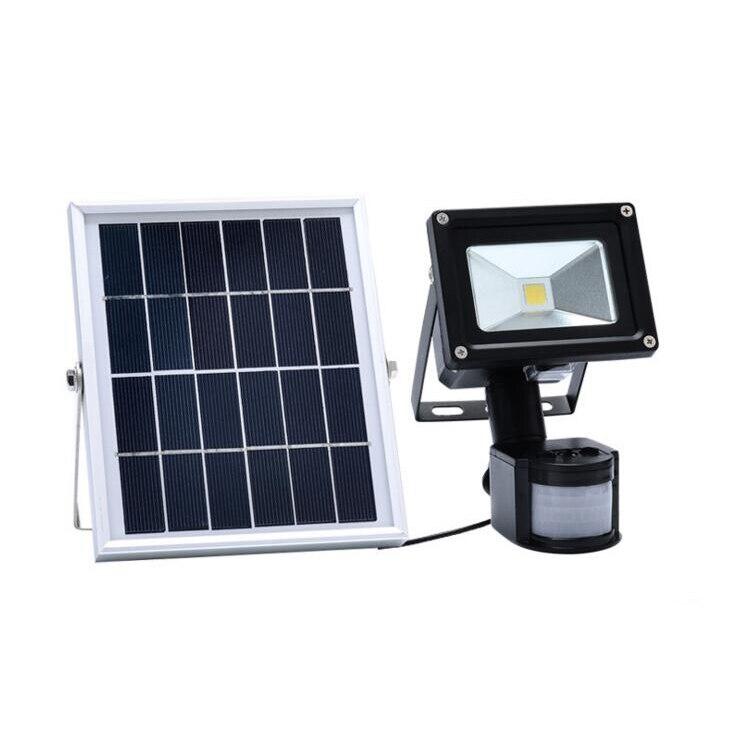 3 piunids/lote 30w 50w LED reflector Solar Lamparas de jardín PIR Sensor de movimiento Solares focos lámpara de inundación