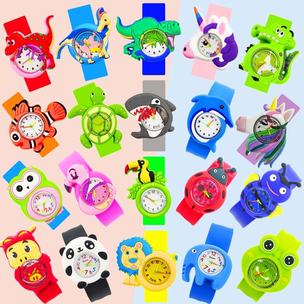 Baby Watch 3D Cartoon Kids Wrist Watches Children Watch Clock Quartz Watches for Girls Boys Gifts Kids Watches 45 Styles of Toys