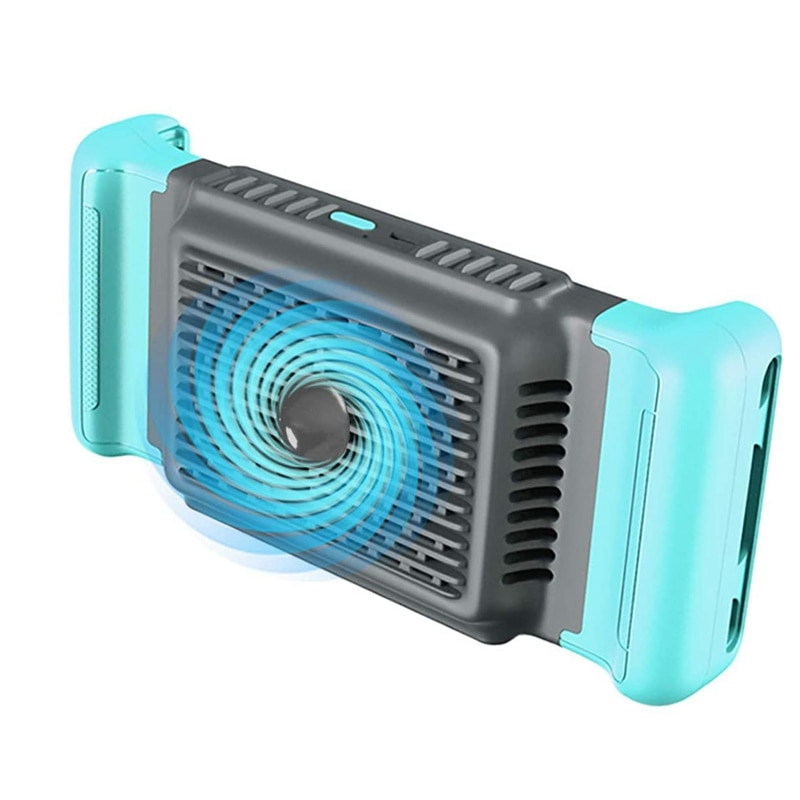 Doble ventilador refrigerador de refrigeración + Semiconductor Pubg, refrigerador de refrigeración para teléfonos de 4,5-7 pulgadas, Plug and Play