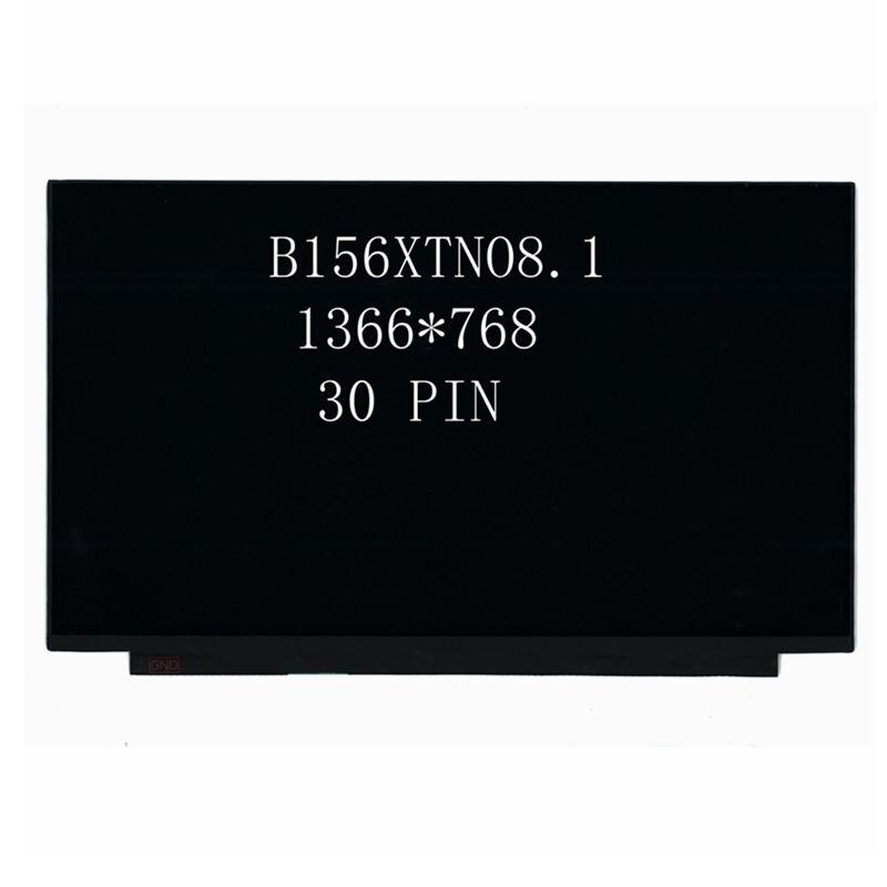 15.6''inch Original B156XTN08.1 Laptop Lcd Screen 1366*768 EDP 30 Pins matrix