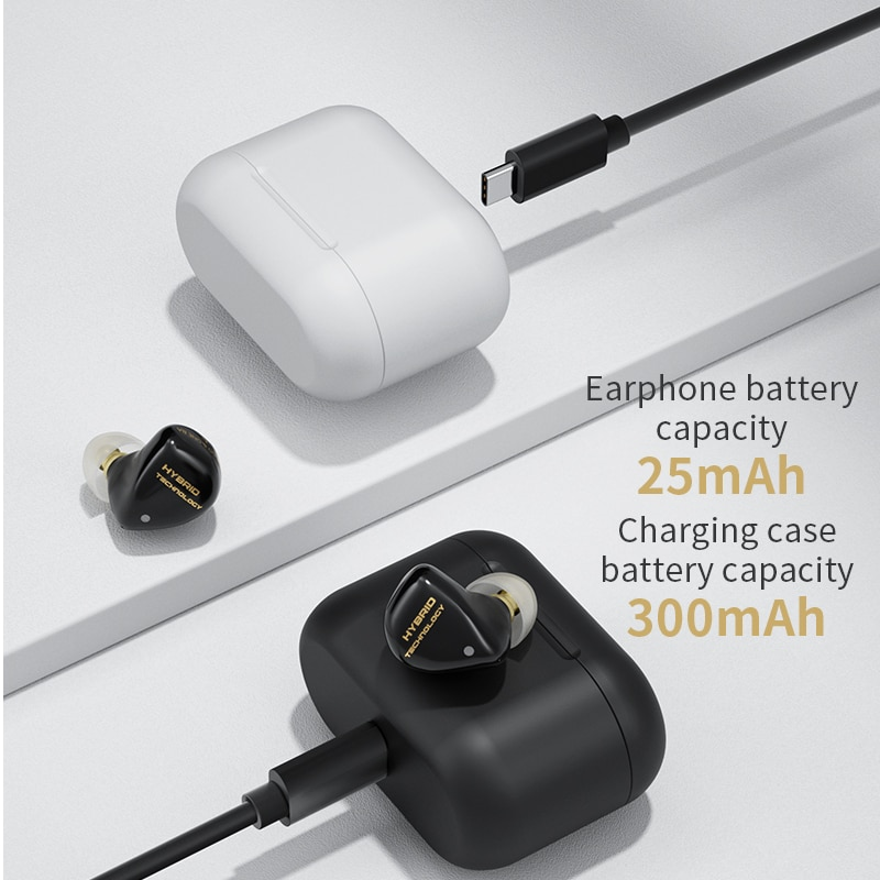 In-Ear Earphone Ture Wireless 5.2 Bluetooth Headphones AAC Sport Hybrid Drive Gaming Headsets S2 S1 Z1 PRO SA08 Q2S enlarge