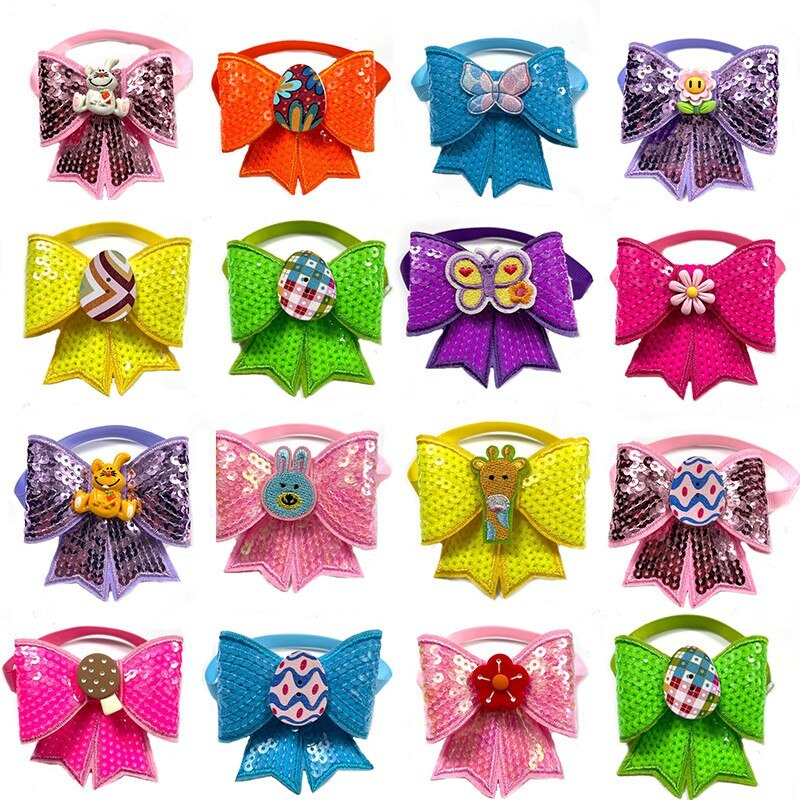 50-100pcs-easter-pet-dog-tie-rabbit-eggs-style-pet-supplies-small-dog-cat-accessories-small-dogs-bow-tie-neckties-dog-bows