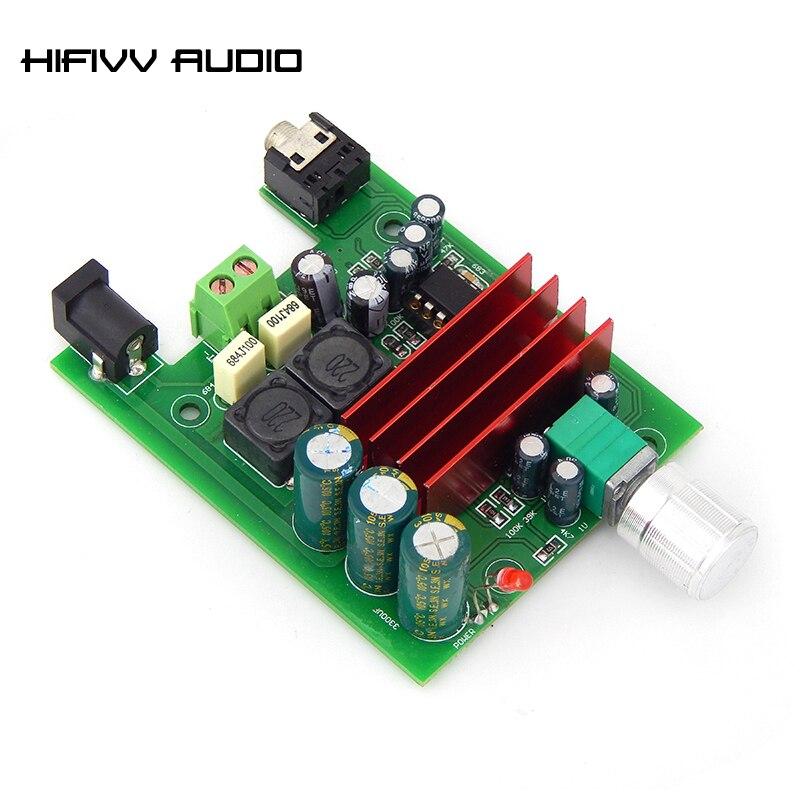 100va 100 w subwoofer placa amplificador de potência digital tpa3116d2 mono amplificadores placa com ne5532 op amp 3116 pré-amplificador DC12-25V