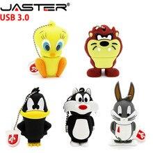 USB 3.0 Looney Tunes usb flash drive 64GB 32GB 16GB 8G 4GB pendrive bugs bunny Daffy duck Cartoon usb stick animal pen drive