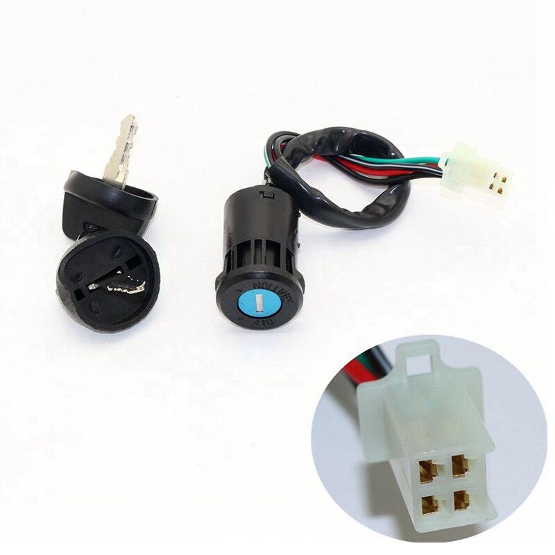 Interruptor de llave de encendido de 29cm adecuado para interruptores chinos de cuatro tiempos 50cc 70cc 110cc 125cc ATV/Quad/Go Kart