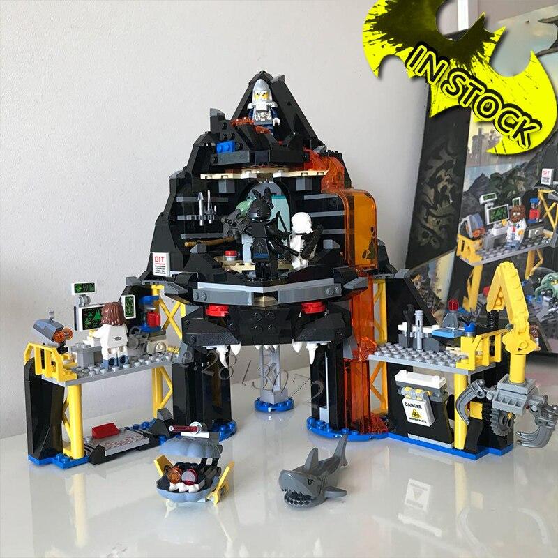 70631 en existencia serie Ninja Garmadon Volcano Lair 521 Uds., modelo de bloques de juguete, bloques 06072 31102 SY966 10798, juguetes educativos