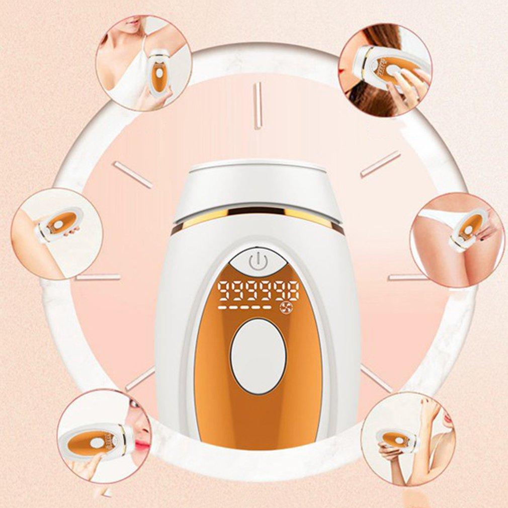 IPL ماكينة إزالة الشعر الكهربائية جهاز متعدد الوظائف جهاز الجمال المنزلي المحمولة الفوتون تجديد الجلد وجهاز إزالة الشعر