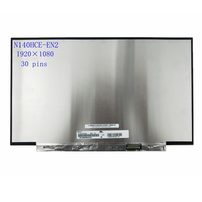 n140hce en2 tela lcd para laptop matriz de substituicao c2 n140hce en2 ips 30pin fhd 140