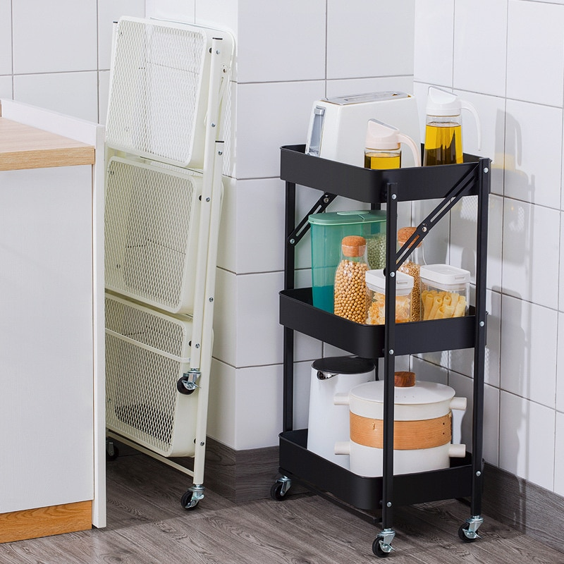 1-pcs-kitchen-accessories-folding-trolley-storage-shelf-floor-multi-layer-movable-baby-products-bedroom-bathroom-rack