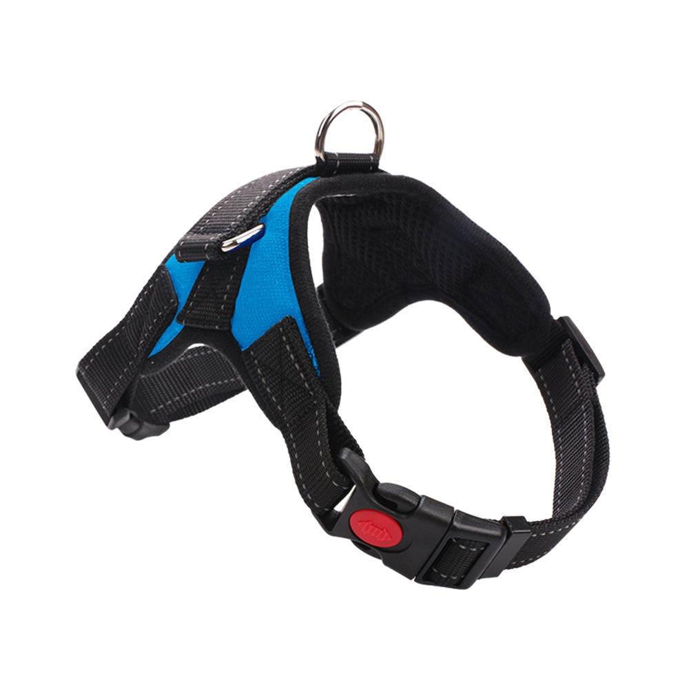 4Colors Adjustable Dog Belt Dog Harness Walking Lead Leash Strap Back Traction Belt Pets Dog Collar Pet Chest Vest
