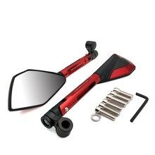 Para KTM 350XC-F 450XC-F 505XC-F 350XCF-W 250XC-W 1 par espejo retrovisor de motocicleta CNC espejos laterales moto rbike Accesorios
