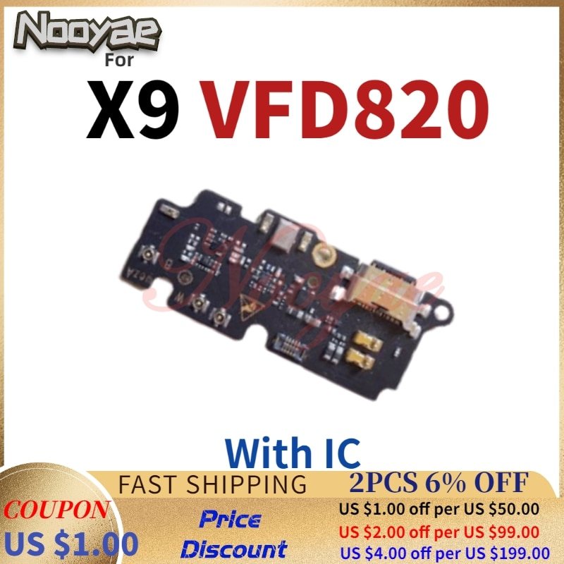For Vodafone Smart X9 vfd820 820 USB Dock Charger Charging Port Connect Flex Cable Microphone with I