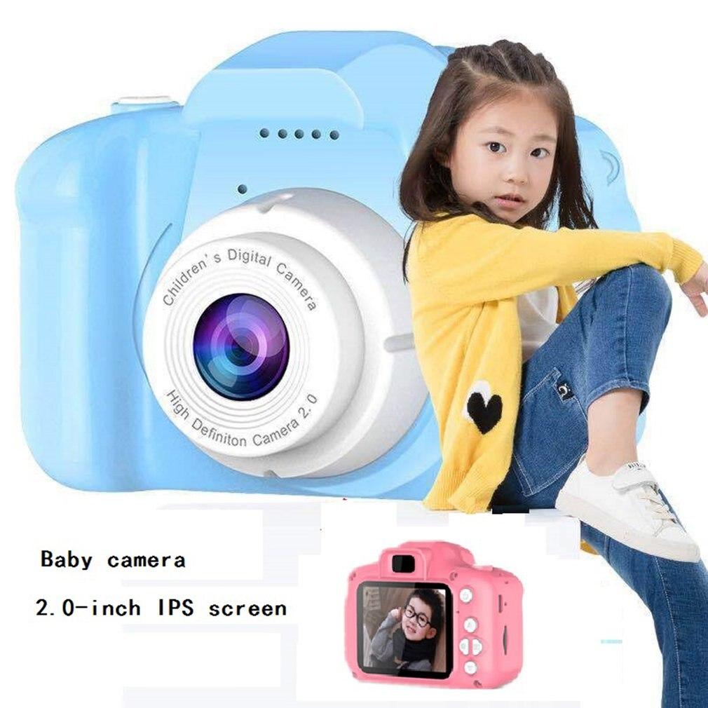 Kids Digital 1080P HD Screen Video Camera Toys 8 Million Pixel Waterproof 2.0 Inch Color Display Chi