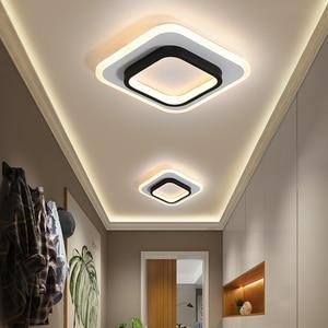 creative Nordic entrance  spotlights Modern minimalist aisle corridor embedded home crystal clear kitchen land light WY815
