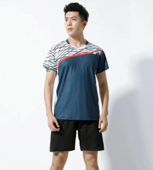 #002 type 2-piece set, short-sleeved shorts, printed pattern, stretch fabric, breathable and comfortable, suitable for summer an