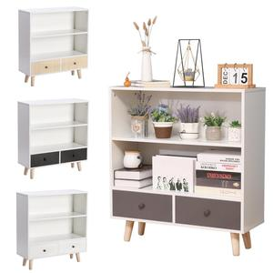 Retro Simple Drawer Organizer Cabinets Bathroom Wooden Foot Storage Cabinet Standing Shelf Bedroom Lockers Furniture Muebles