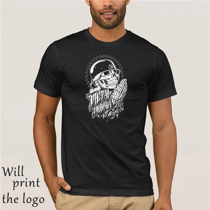Camiseta de algodón de verano para hombre Mulisha Motocross Metal