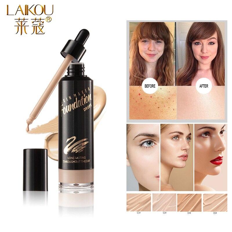 LAIKOU крем-основа для лица водостойкий стойкий консилер жидкий профессиональный макияж масляная основа для макияжа
