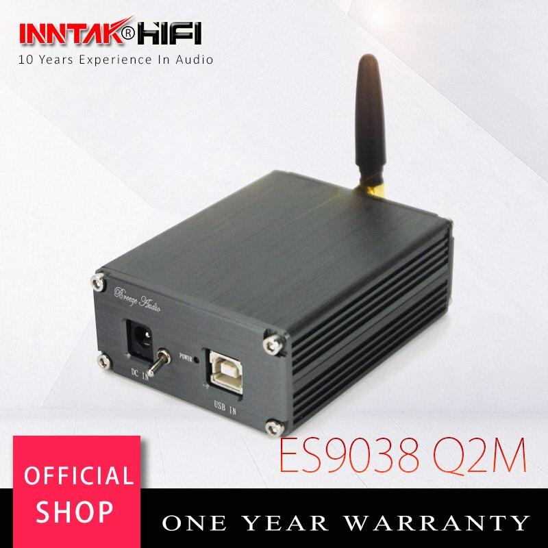 Hi-Fi SU2 ES9038 Q2M XMOS XU208 USB DAC con CSR8675 5,0 Bluetooth APTX HD