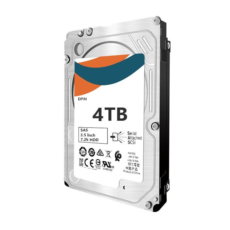 La mejor calidad para MB4000FCWDK 695507-008 797267-B21 797520-001 4TB 6G SAS 7,2 K 3.5in DP MDL LP unidad de disco duro HDD