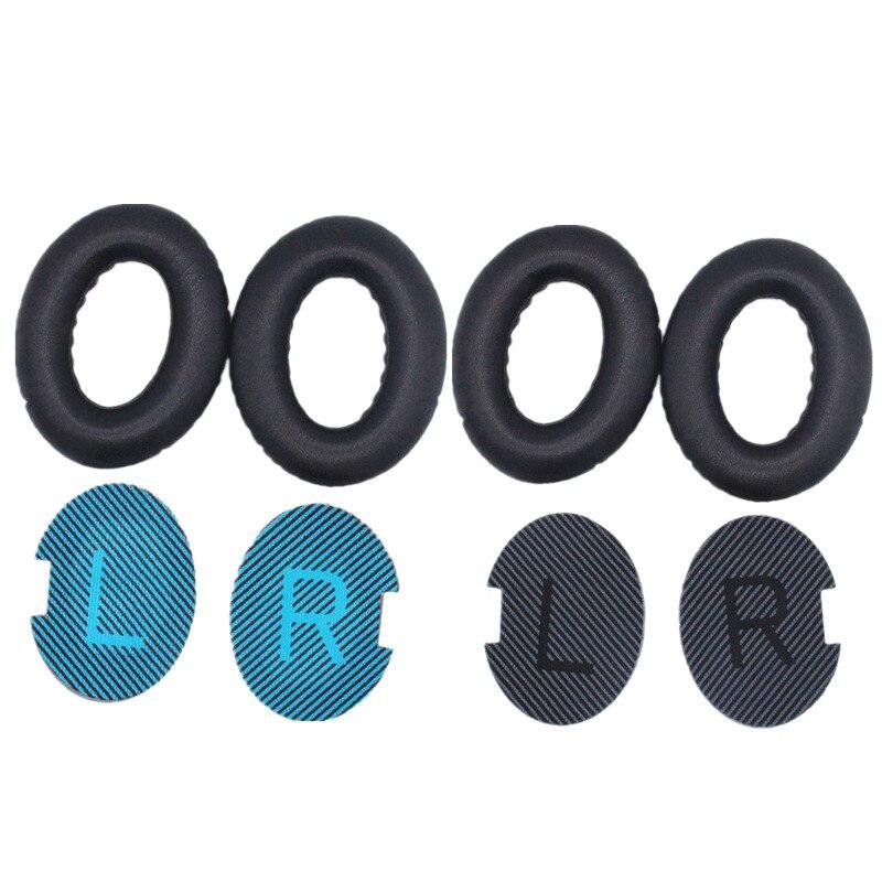 Almohadillas de repuesto cojín para Bose QC35 QC25 QC15 QC2 AE2 AE2i AE2w SoundTrue... SoundLink auriculares