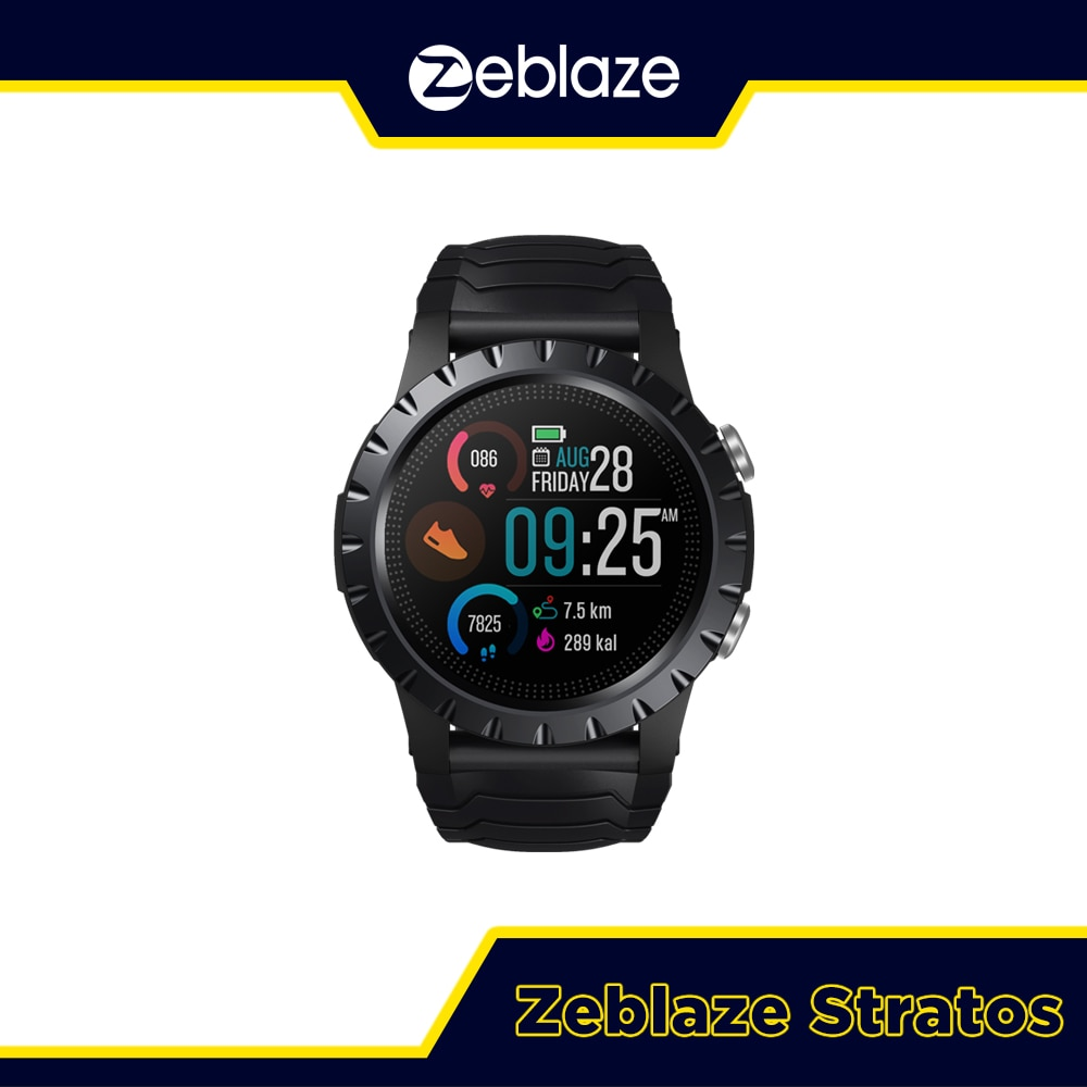 New 2021 Zeblaze Stratos Sports Smart Watch gps GPS GLONASS GALILEO Heart Rate SpO2 VO2max Stress 25