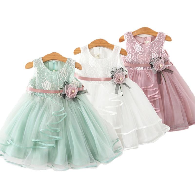 Baby Girls Dress Casual Costume Kids Dresses For Girls Flower Baby Dress Girl Party Little Princess Tutu Summer Dress Vestidos