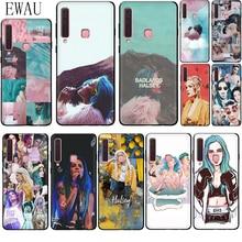 EWAU Halsey Colors Lyrics Badlands Silicone phone case for Samsung A2 Core A5 A6 plus A7 A8 A9 A10s 20s 20E 30s 40s 50s 60 70S