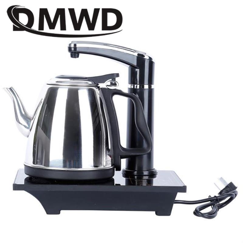 Hervidor eléctrico DMWD calentador de agua caliente de acero inoxidable caldera tetera rellenadora automática bomba embotellada dosificador de agua pura calentador