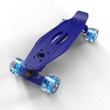 Planche à roulettes polypropylène-PP pour enfants 22 pouces Mini planche à roulettes Cruiser Penny planche à roulettes rétro Longboard Scooer Skate-Board femmes