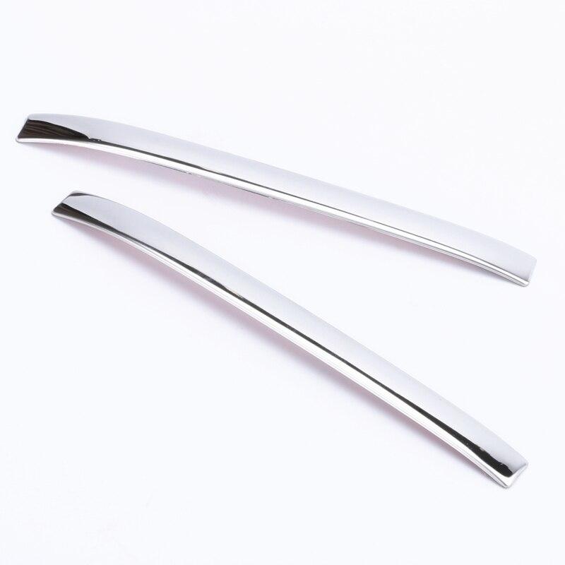 2 uds. SUS304, embellecedor de manija de puerta de acero inoxidable, accesorios de diseño de cubierta de coche para Honda freed GB5/6/7/8 2016