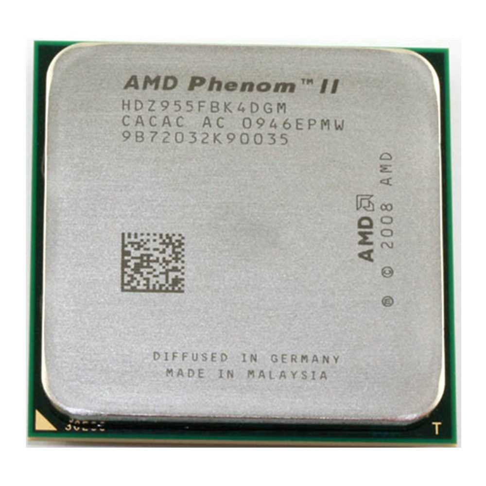 AMD Phenom II X4 955 3,2 Ghz L3/6M Quad-Core cpu Prozessor Sockel AM3 938pin HDZ955FBK4DGM / HDX955FBK4DGI / HDZ955FBK4DGI