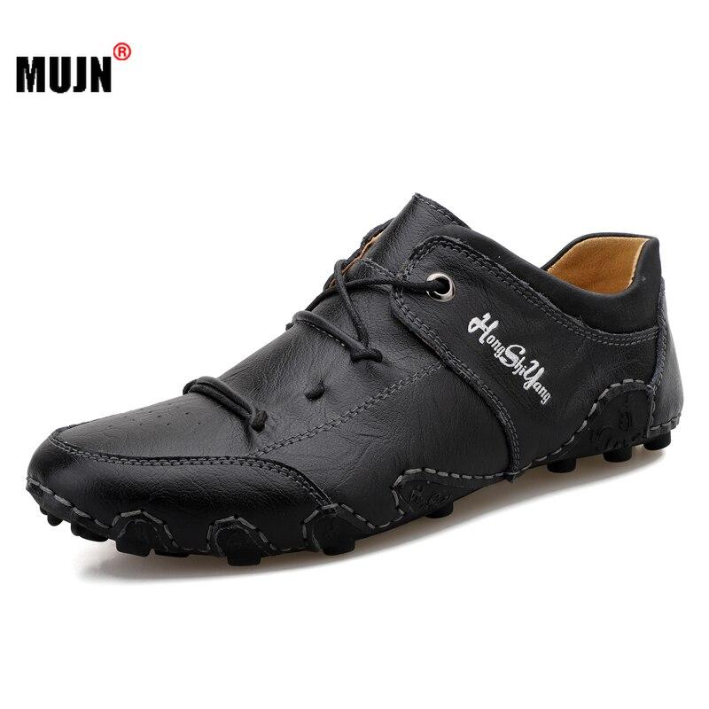 Zapatos de alta calidad de los hombres de primavera cómodo suave de...
