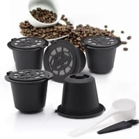 coffee machine reusable capsule coffee cup filter refillable coffee cup holder pod strainer