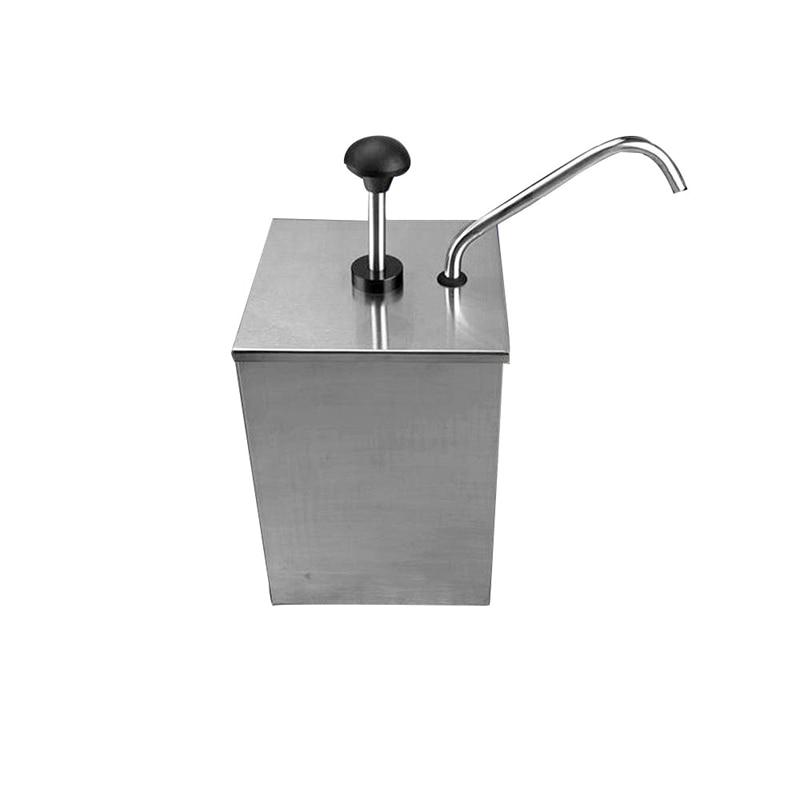 1 دلو صلصة موزع مضخة ضغط بهار الاستغناء الفولاذ المقاوم للصدأ