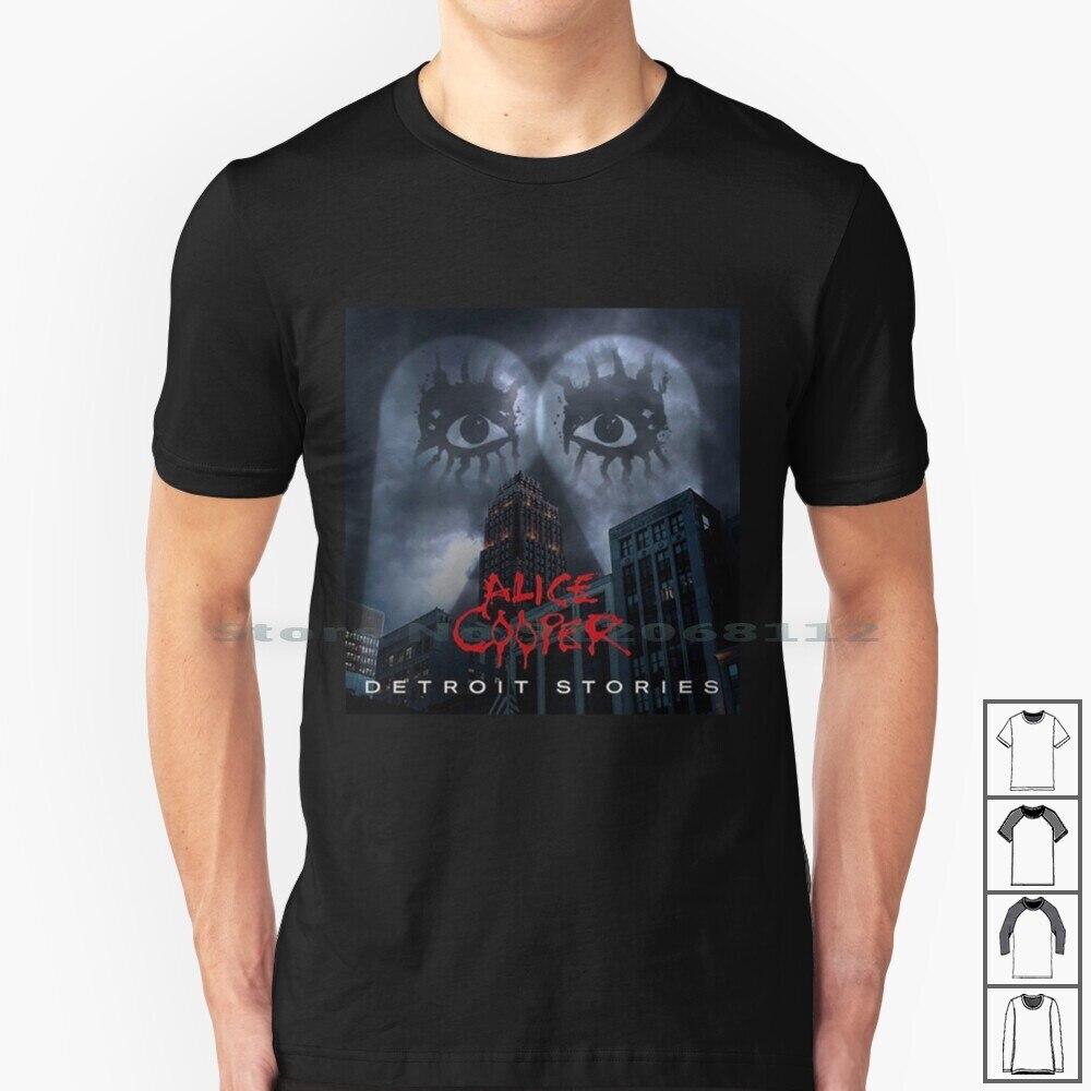 Camiseta de algodón para 100%, camisa con estampado de Detroit, Sories, de...