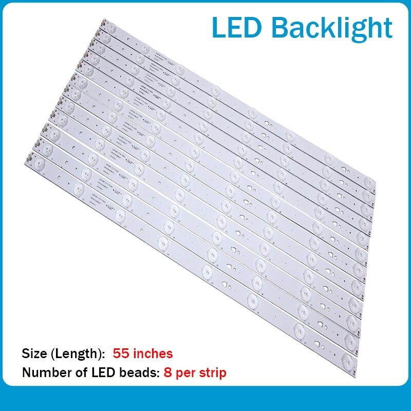 LED 백라이트 스트립, 하이어 LE55A7100L LE55B510N/LE55B510X 30355007202/B 용 7leds