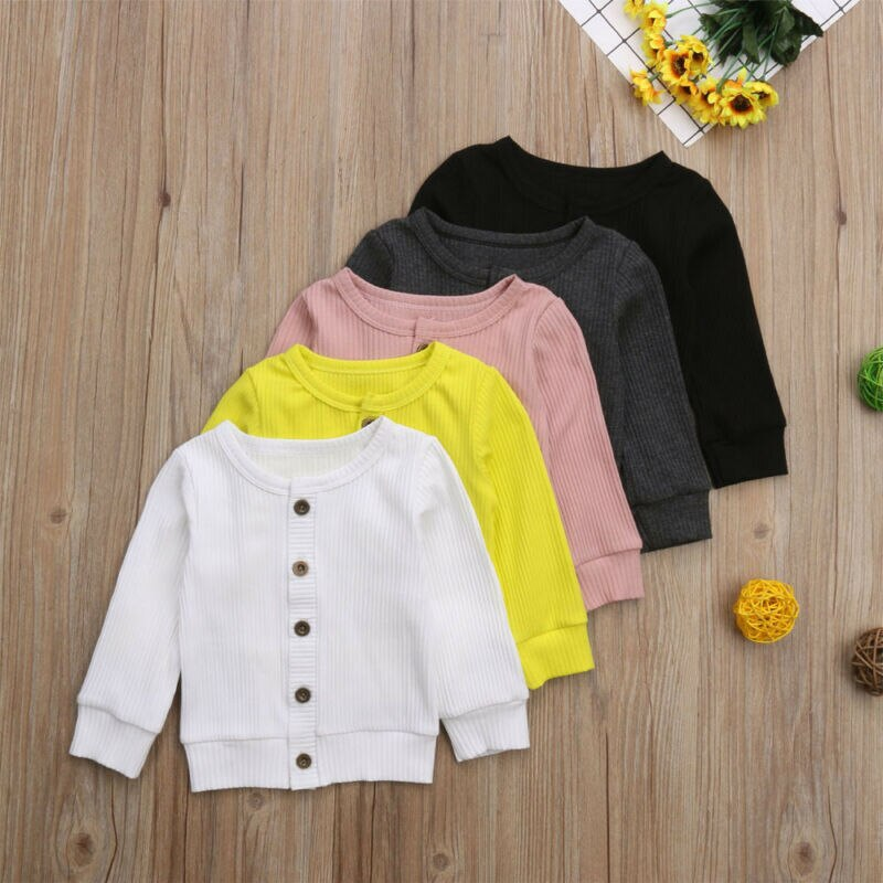 Autumn Baby Girls Baby Kids Children Knitted Sweater Cardigan Tops Outfit Colorful Tees T Shirt Casual long sleeve Kid Clothes new design fall winter thanksgiving kids outfit wholesale children baby girls cute cheap kid clothes