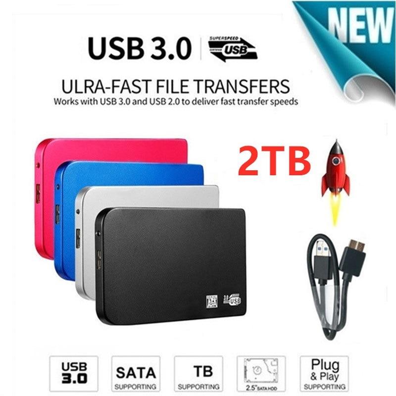 External Hard Drive,Portable Hard Drive1TB 2TB External HDD USB 3.0 for PC, Laptop and Mac