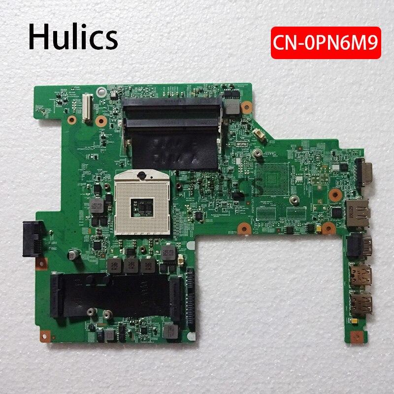 Hulics Original ordenador portátil placa base para DELL Vostro 3500 V3500 PC placa base CN-0PN6M9 0PN6M9 tesed DDR3