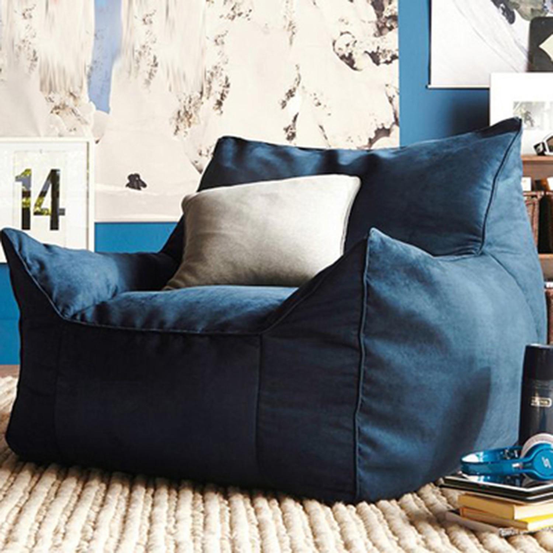Кресло-мешок для отдыха, кресла, мебель для гостиной без наполнения, мягкое сиденье для отдыха, чехлы для стула Levmoon Beanbag