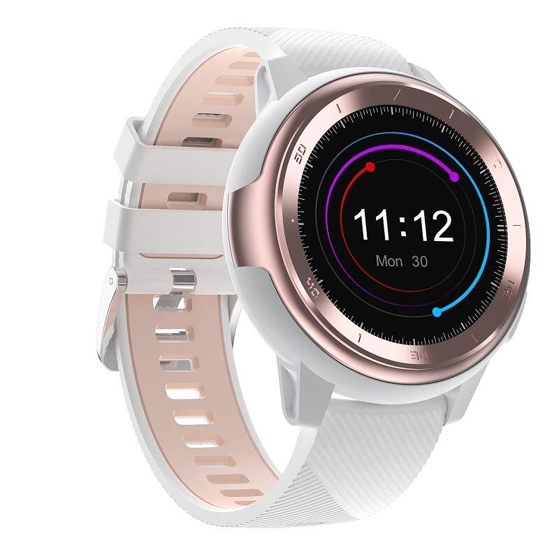 Relógio inteligente mulher dtno.1 dt68 smartwatch décadas mostradores rostos 230mah bateria de lítio freqüência cardíaca ecg pressão arterial tempo
