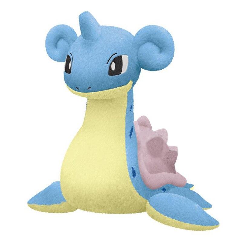 Nueva muñeca de peluche Pokemon, figura de dragón, juguetes para niños de Lapras suaves 25cm